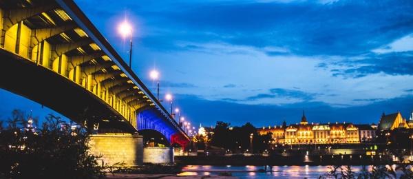 La ciudad de Varsovia se une a la celebración del 20 de Julio e iluminará el puente Śląsko-Dąbrowski